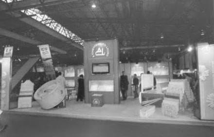 1st International Exhibition (Construmat - Barcelona)<br>Export beginning