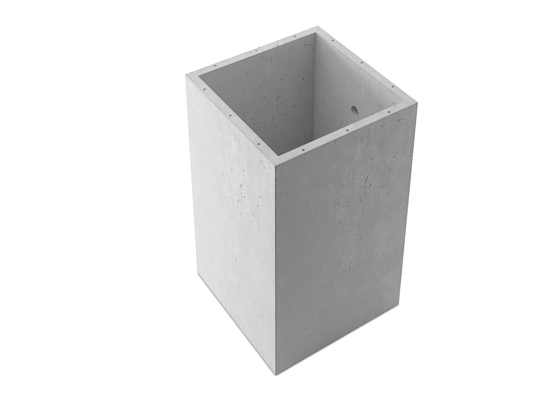 1665x1665x2834 mm